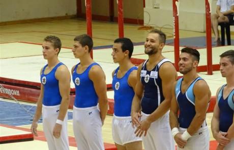 גביע ישראל 2015 – התעמלות מכשירים בנים