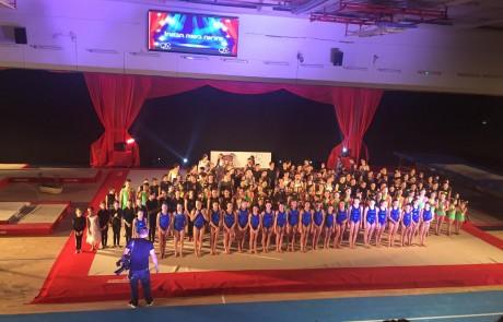 איגוד ההתעמלות חתם את 2016 בגאלה מרשימה וצבעונית