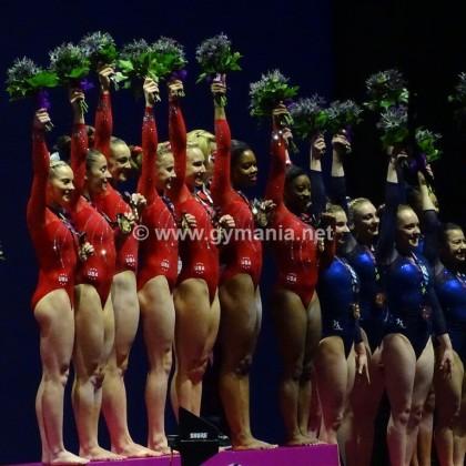 אליפות העולם 2015 – גמר קבוצתי נשים